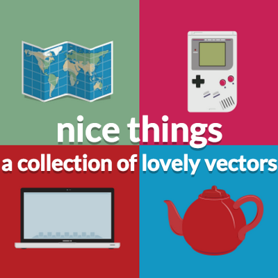 Nice Things: Collection of Free Vectors